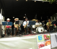 Brunnenfest United Big Band frontal